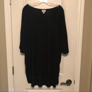 SOLID BLACK LuLa Shirt (Irma)